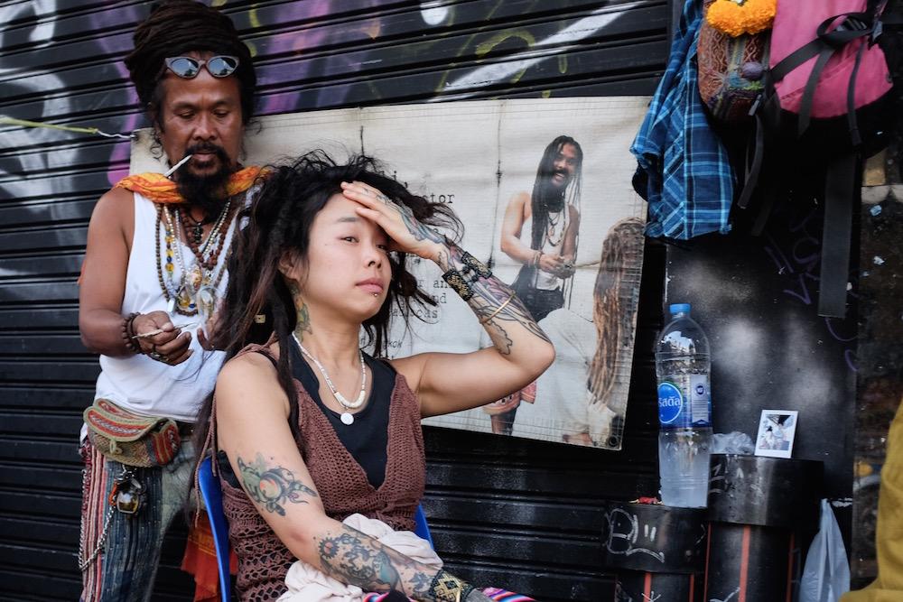 hair braiding in Bangkok
