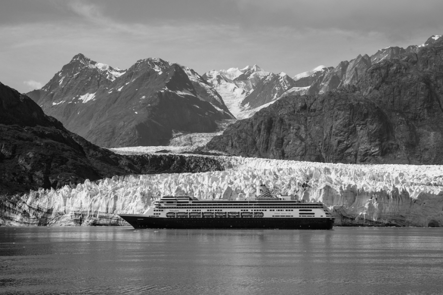 Cruise Ship Margerie Glacier