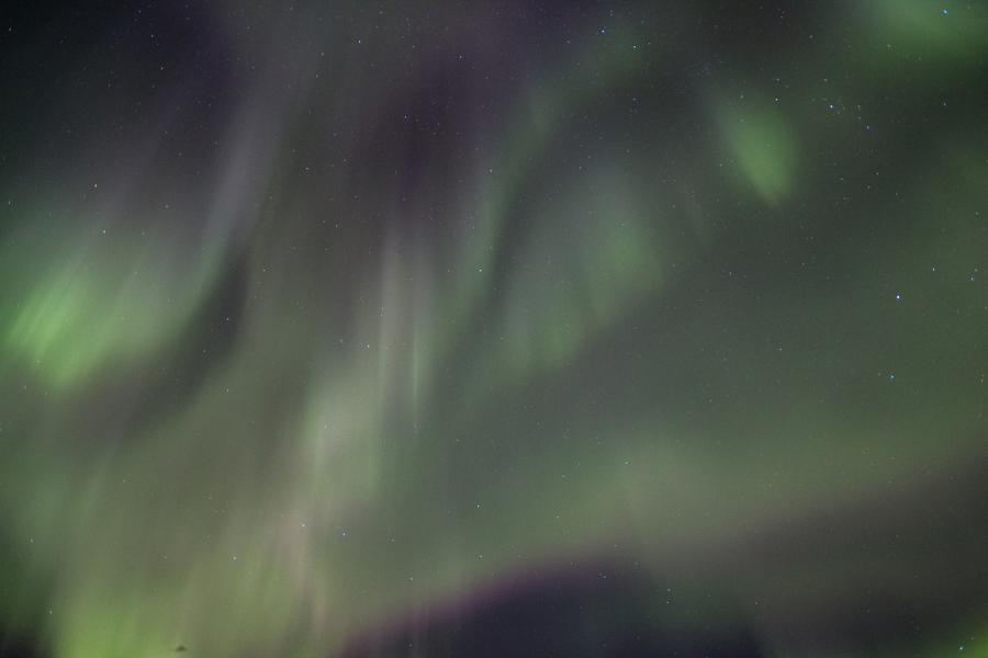 Glacier Bay Aurora Borealis