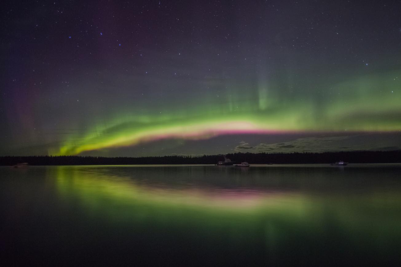 Northern Lights Bartlett Cove