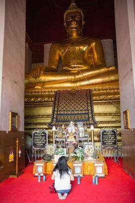 Big Buddha in Ayutthaya