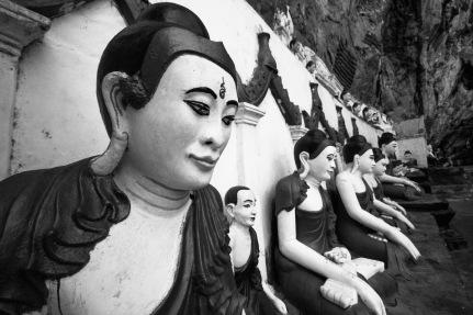 Buddha near Hpa-an.