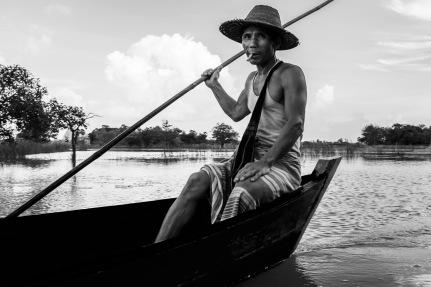 Burma black and white