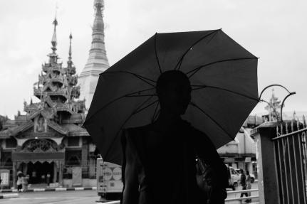 Monk in Yangon