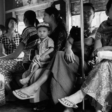 Yangon Circle Train.