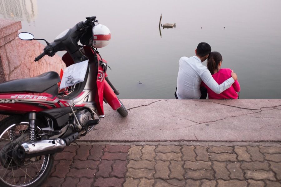 hanoi street shot