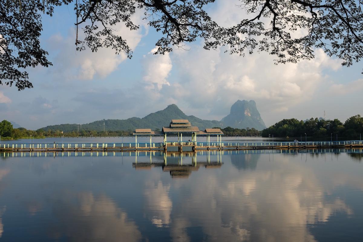 hpa-an lake