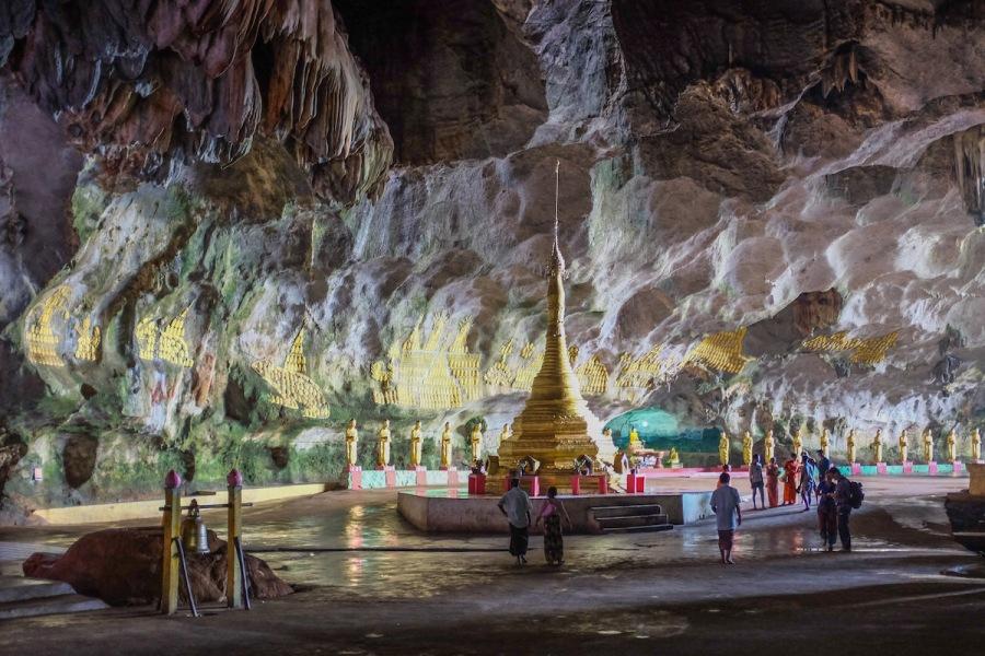 Saddar Cave near Hpa An.