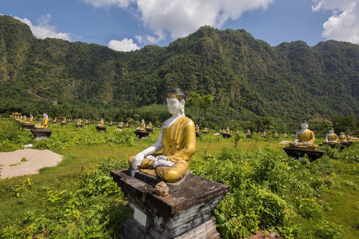 Buddha near Hpa An