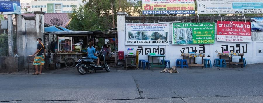 street food restaurant Bangkok