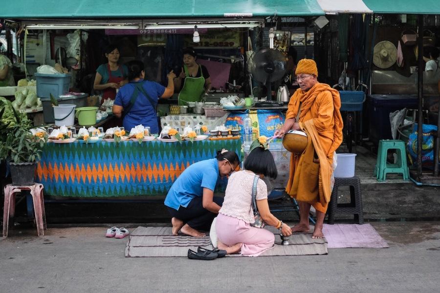 Min Buri monk