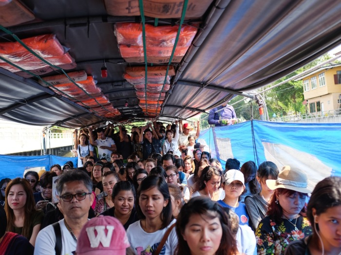 Khlong Boat Bangkok