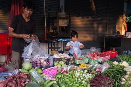 Min Buri Street Market