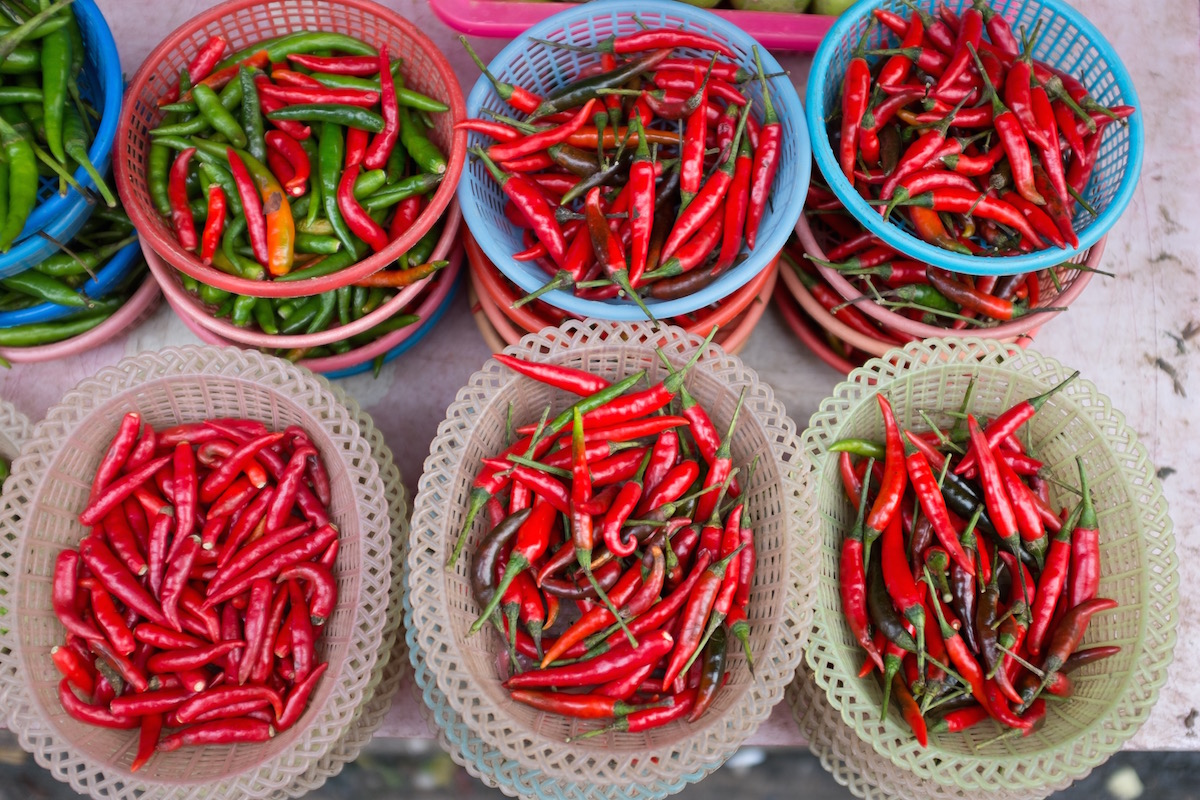 Pepper in Market Bangkok