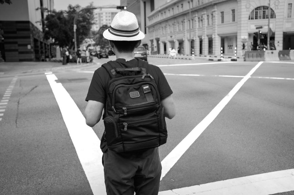 Singapore crosswalk