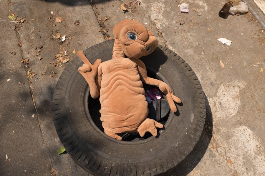 E.T. in a Tire