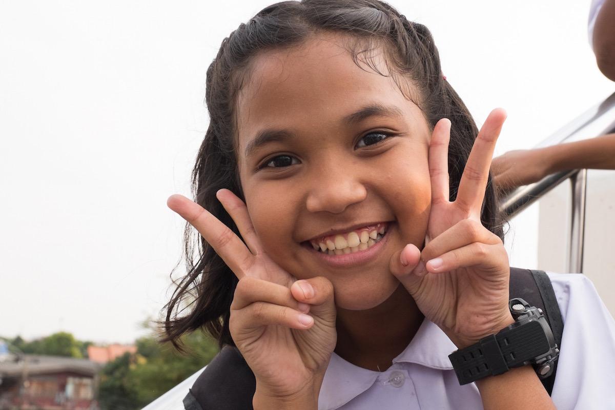 Bangkok Girl Posing