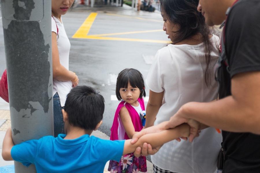 Singapore Street Photo Kids