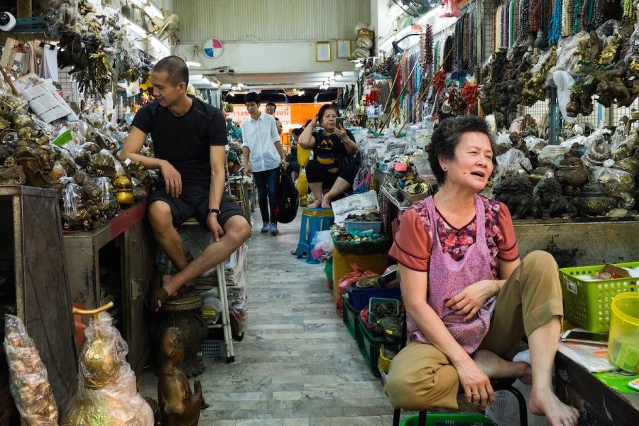 Bangkok Street Photos Talat Mai