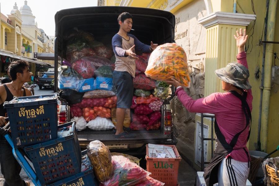 Bangkok Street Photography Flower Market