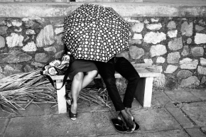 Photo of the Week: Lovers Under an Umbrella