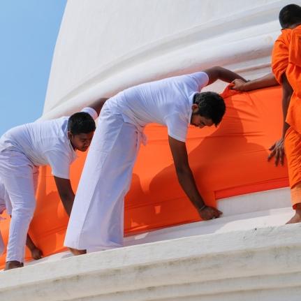 Anuradhapura Monks
