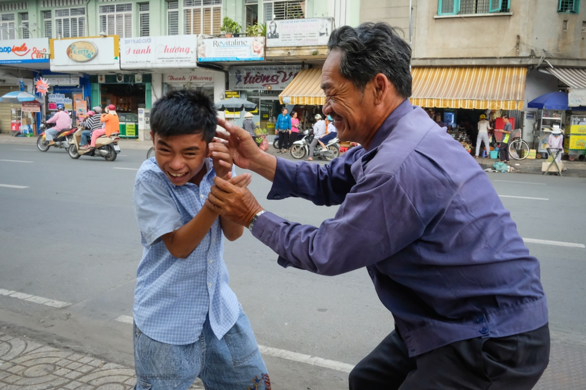 Street life in Ho Chi Minh City