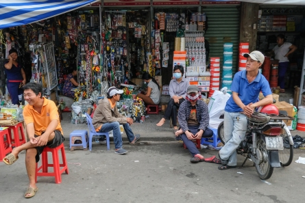 Saigon Market street photo