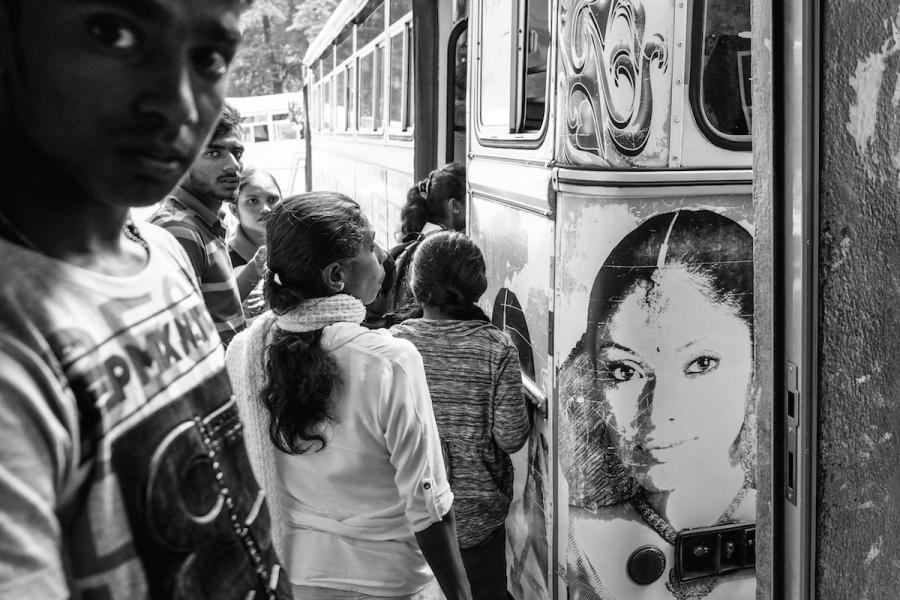 Sri Lanka black white