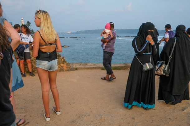 muslim with tourist
