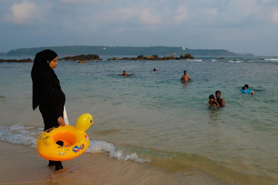 muslim Sri Lanka street photo