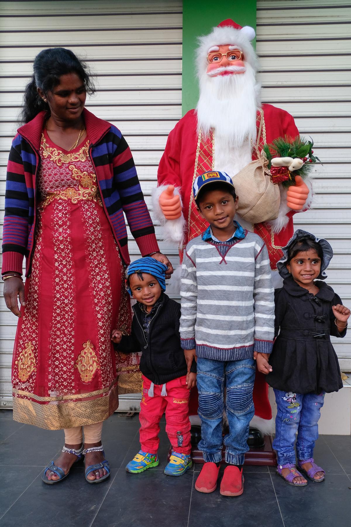 Christmas family Sri Lanka