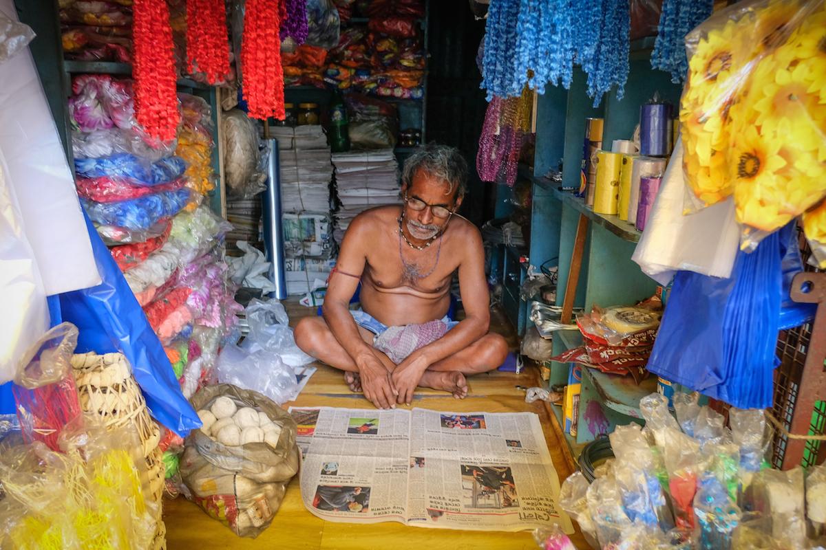 Malik Ghat Market Man