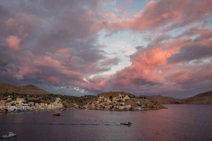 Symi Greece Sunrise