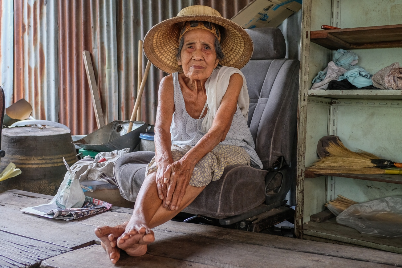 Bangkok Woman Portrait