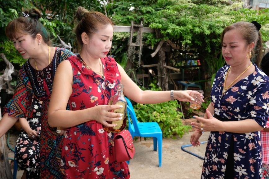 Songkran drinking