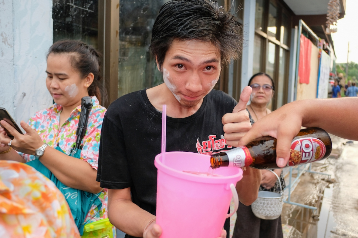 Buckets of Booze Songkran