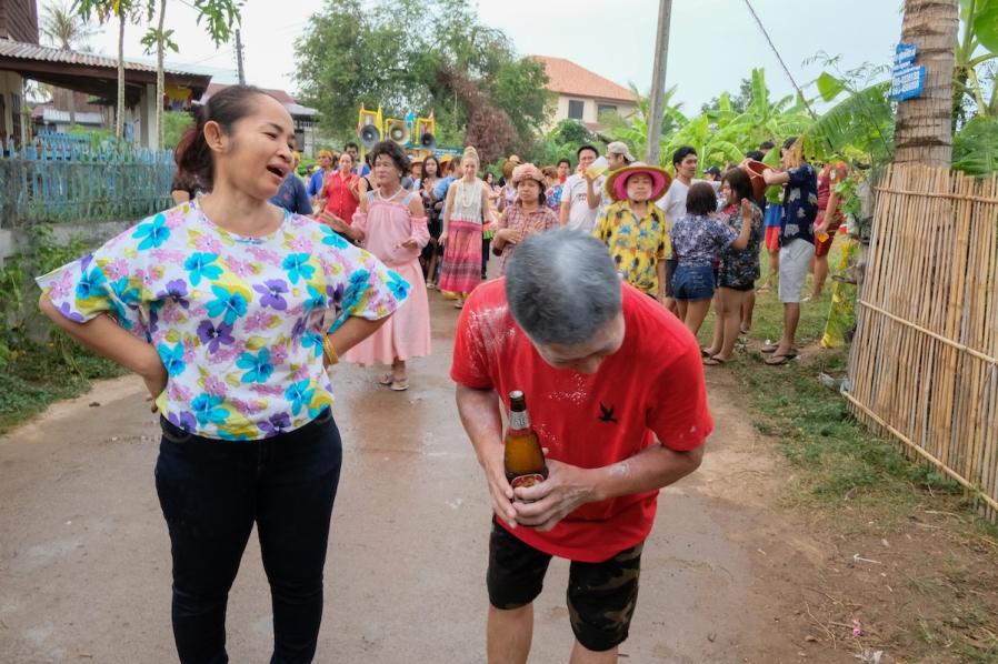 Songkran Issan Parade