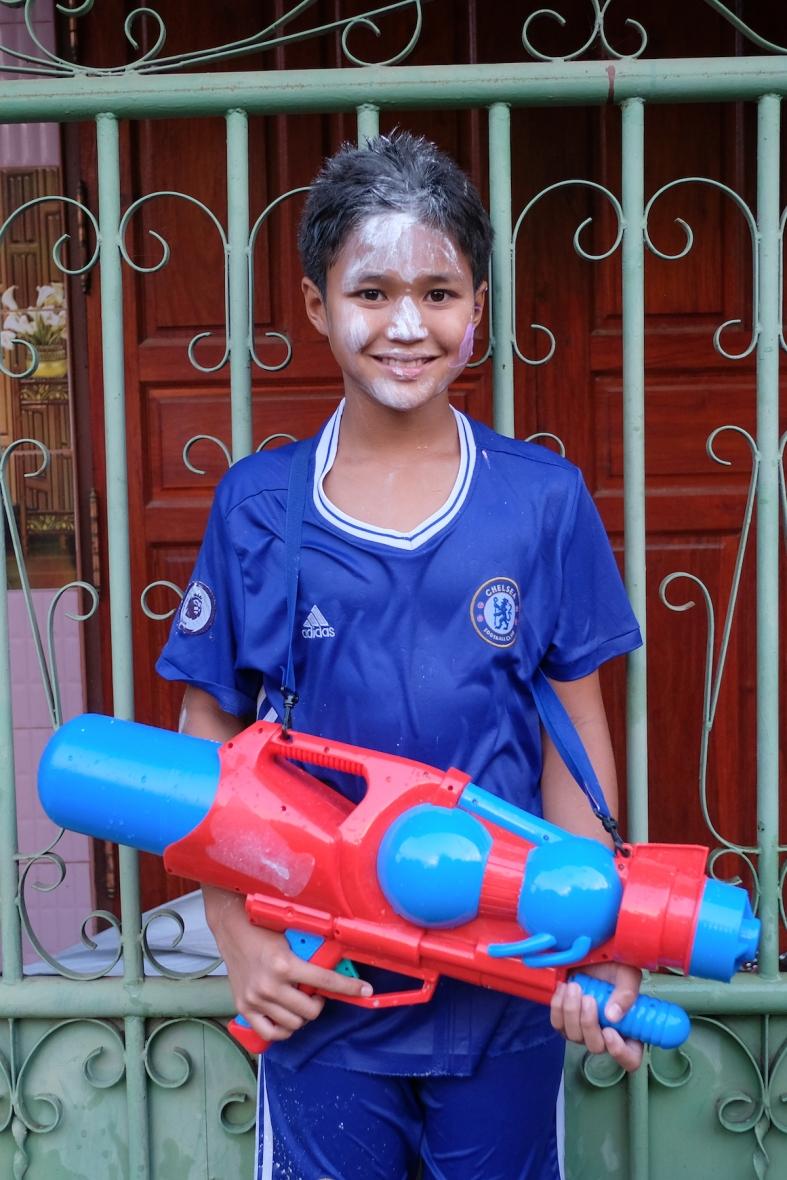 Songkran Water Warrior