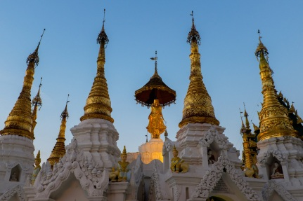 Shwedagon Pagoda Evening