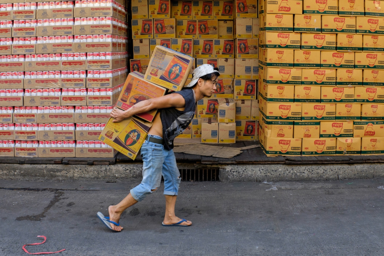 Bangkok street photo