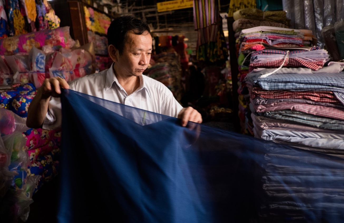 Street Photography Yangon Market