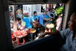 Yangon Street Photography Train window