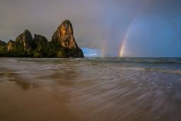 Railay Beach Rainbow
