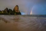 Railay Beach Thailand Rainbow