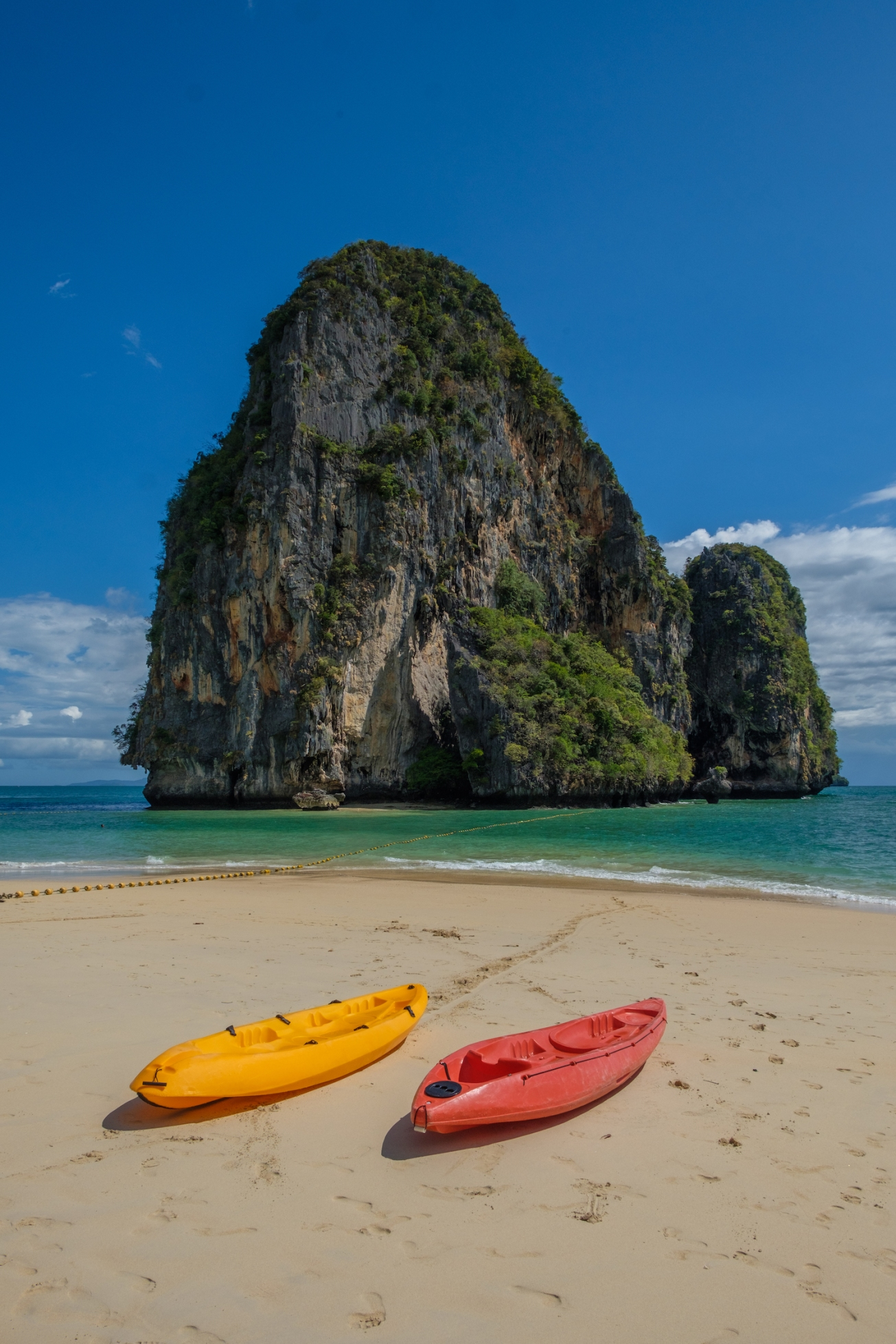 Railay Beach Thailand Kayaks