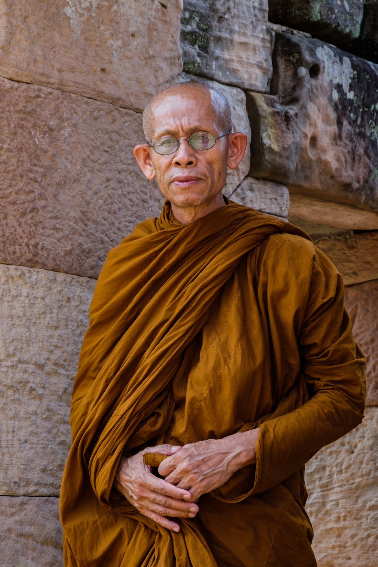 Thailand Monk Portrait