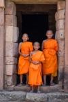 Monks at Phanom Rung