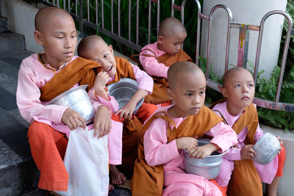 Yangon Pink Nuns