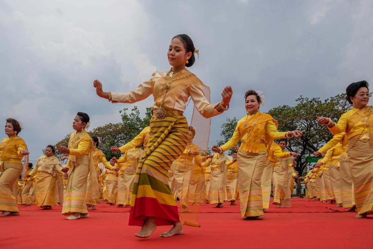 Yellow Thai Daners
